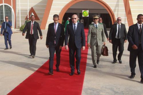 Départ du Président de la République pour Ouagadougou