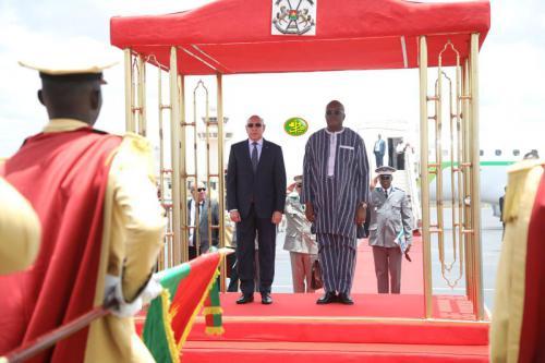 Le Président de la République arrive à Ouagadougou