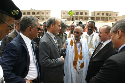 Le ministre de l'enseignement secondaire visite certains établissements en cours de réalisation