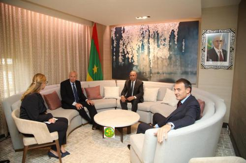 Le Président de la République reçoit à New York le Président Directeur Général de British Petrolum