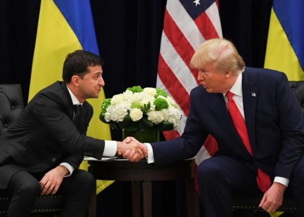 Trump a demandé au président ukrainien d'enquêter sur Joe Biden