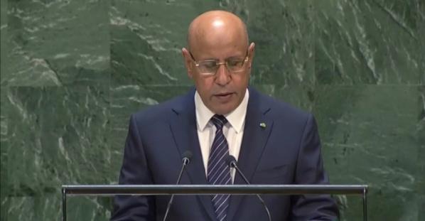Le président Ghazouani : «nous allons lancer des projets ambitieux en faveur des couches déshéritées »
