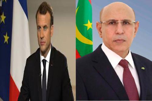 Le Président de la République adresse un message de condoléances au Président Français