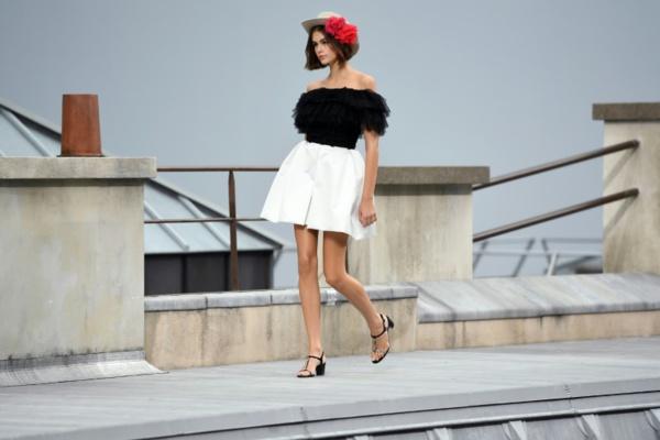 Chanel: défilé Nouvelle Vague sur les toits de Paris
