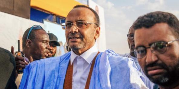 hazouani reçoit l'ex candidat à la magistrature suprême Ould Boubacar