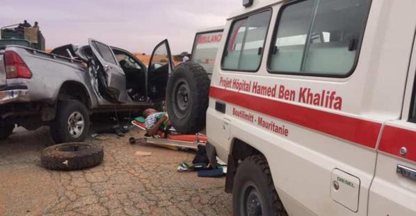 Boutilimit : 30 accidents de la route, 18 décès en trois mois