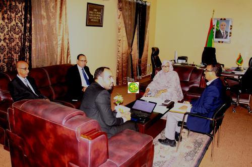 La ministre de l'environnement insiste sur la nécessité de respecter les critères de l'environnement dans la gestion de la société de Tasiast