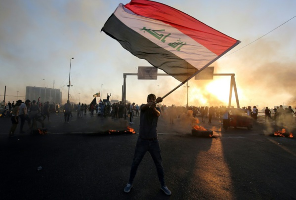 Nouvelles manifestations contre le pouvoir en Irak, tirs entendus