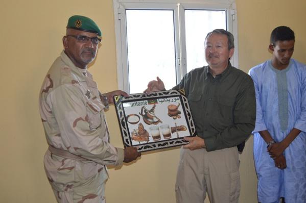 Des officiers mauritaniens formés sur les techniques de maintien de la paix