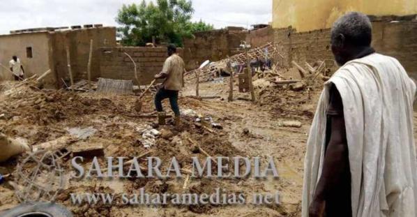 Intempéries : des blessés et des dégâts matériels dans l'est et le sud-est de la Mauritanie