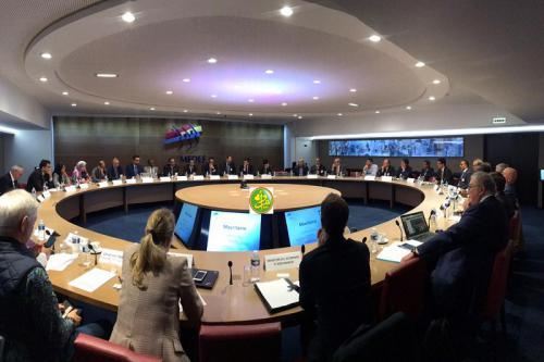 Exposition devant le MEDEF des opportunités d'investissement en Mauritanie