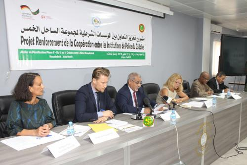 Atelier sur le renforcement et la coopération policière G5 Sahel