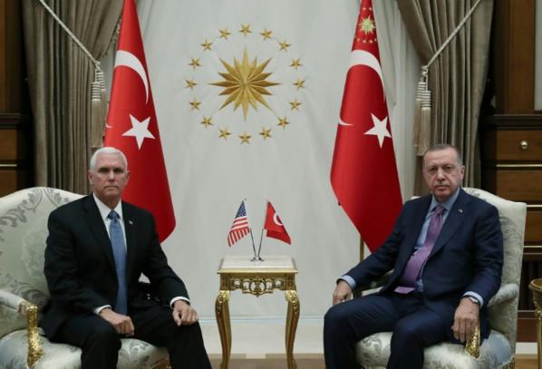 Syrie : Pence arrache une trève à Erdogan