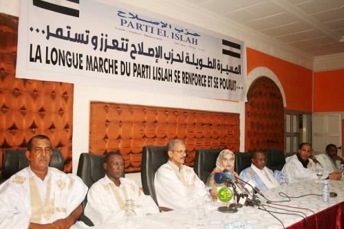 Adhésion d'un groupe de cadre au parti El Islah