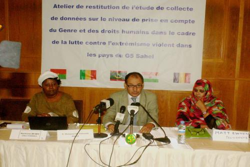 Atelier sur les droits de l'Homme et le genre