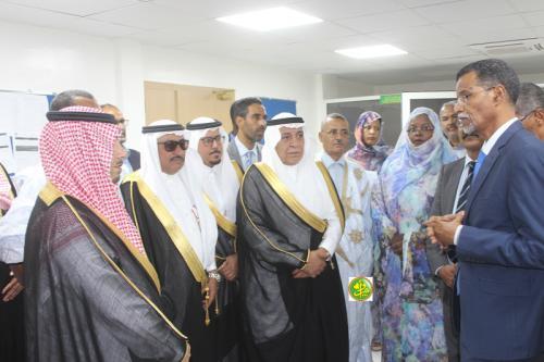La délégation du Conseil saoudien de la Choura visite l'Agence mauritanienne d'information