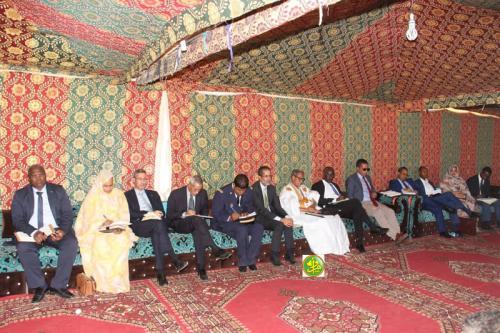 Le Premier ministre se réunit avec les représentants des autorités, cadres et élus de l'Inchiri