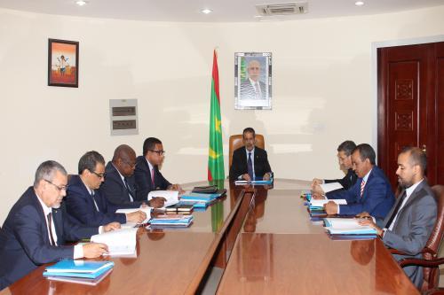 Le Premier ministre préside le comité interministériel chargé du suivi des engagements de la Mauritanie relatifs à l'initiative de transparence dans les industries stratégiques