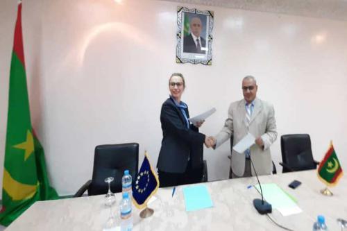 Pêche : Signature du Procès-verbal du deuxième tour de négociations entre la Mauritanie et l'Union européenne