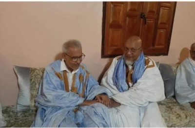 Chinguetti/Ahmed Ould Daddah reçoit le ministre de la culture et le président du comité de gestion de l'UPR: une nouvelle tournure