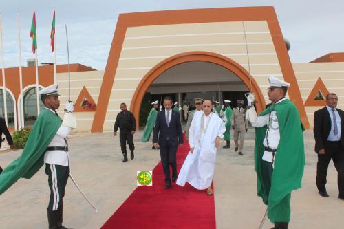 Le Président de la République se rend à Chinguetti pour superviser le démarrage du festival des villes anciennes