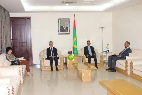 Le Premier ministre reçoit l'ambassadeur de France à Nouakchott