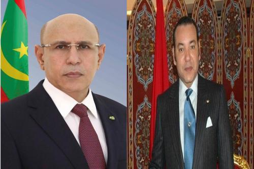 Le Président de la République félicite le Roi du Maroc