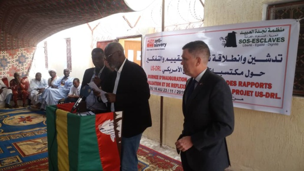 SOS Esclaves inaugure son nouveau siège
