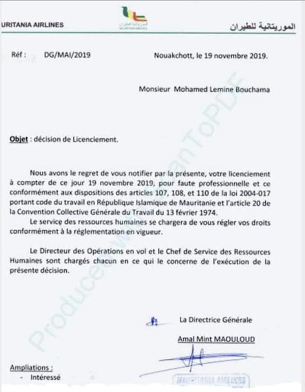 Ivresse du pouvoir à Mauritania Airlines : qu'est-ce qui a pris Amal Mint Maouloud ?