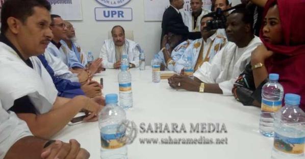 L'ancien président O. Abdel Aziz préside une réunion du directoire de l'UPR