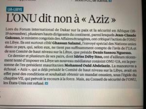 Jeuneafrique du 24 novembre 2019
