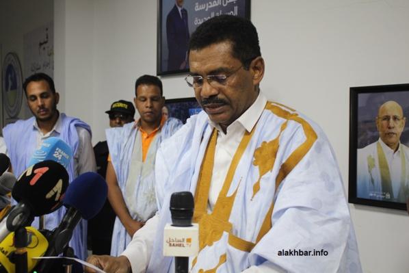 Ma référence est le Président Ould Ghazouani, dit le Porte-parole de l'UPR
