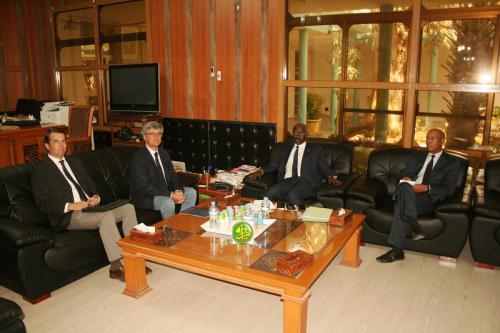 Le Chef de la délégation européenne loue la stratégie sécuritaire de la Mauritanie.