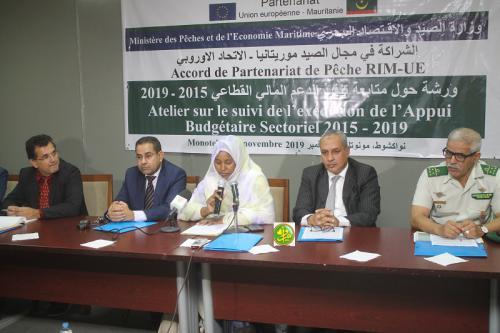 Lancement d'un atelier pour le suivi du soutien au budget sectoriel de la pêche