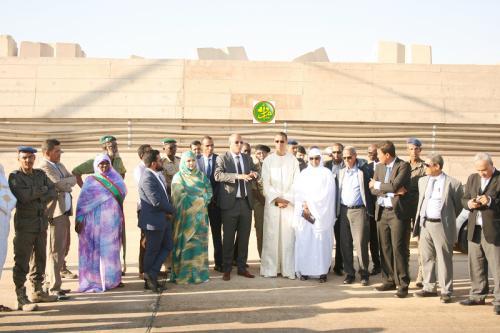 Le ministre sénégalais des Pêches et de l'économie maritime visite le Port de Tanit