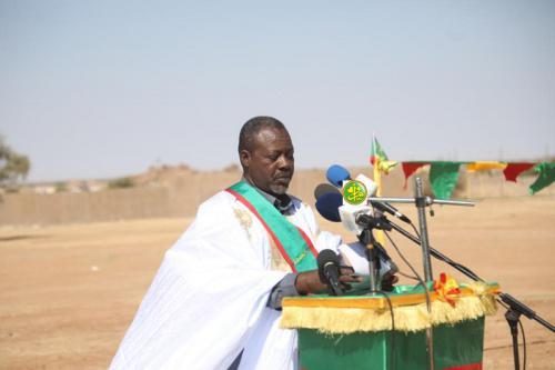 Le maire de Sélibaby : le Président de la République honore la wilaya par la pose de la 1è pierre de 9 projets structurants