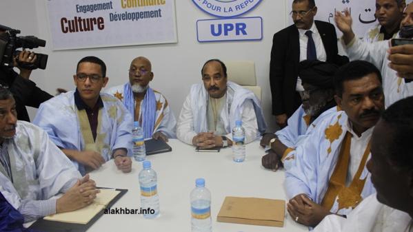 Le parti au pouvoir, UPR, désigne un coordinateur