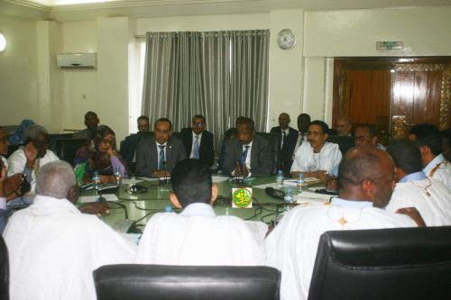 La commission des finances de l'assemblée nationale examine le budget du ministère de la justice