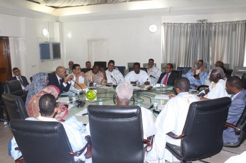 La commission des finances de l'Assemblée Nationale discute le budget du ministère des pêches et de l'économie maritime