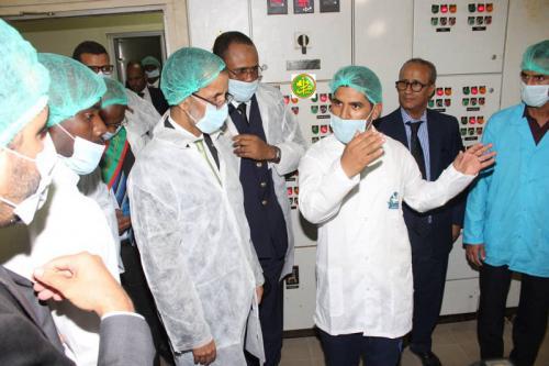 Le Premier ministre visite la Société mauritanienne des produits laitiers