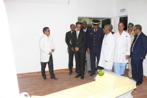 Le Premier ministre visite le Centre hospitalier de la ville de Néma