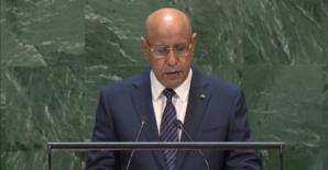 Le président Ghazouani : « nous nous tenons aux côtés du Mali dans sa lutte pour la sécurité et le développement »