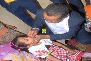 Lancement de la deuxième campagne de dépistage de la malnutrition, de distribution de vitamine A et de déparasitage