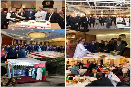 Les missions diplomatiques mauritaniennes à l'étranger célèbrent le 59ème anniversaire de l'Indépendance nationale