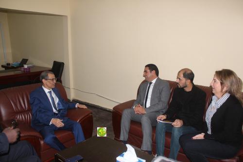 Le président de la CENI s'entretient avec une délégation de la commission arabe chargée de la supervision des élections