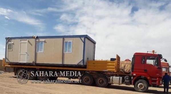 Zouerate : une caravane appartenant à Aziz immobilisée par les autorités