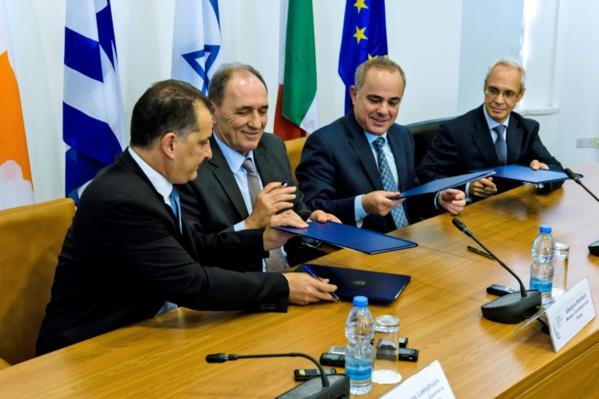 La Grèce, Chypre et Israël signent jeudi un accord sur le gazoduc Eastmed