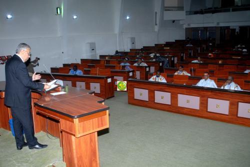 L'Assemblée nationale adopte l'accord de prêt pour la construction d'un port de pêche à Nouakchott