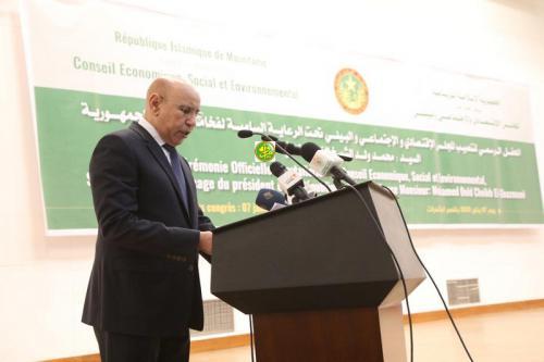 Le Président de la République : Le gouvernement déterminé à coopérer avec le Conseil Economique, Social et Environnemental