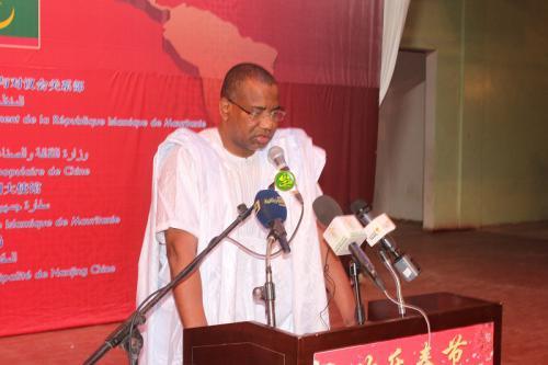 Le ministre de la culture préside le lancement des activités des journées culturelles Mauritano-chinoises